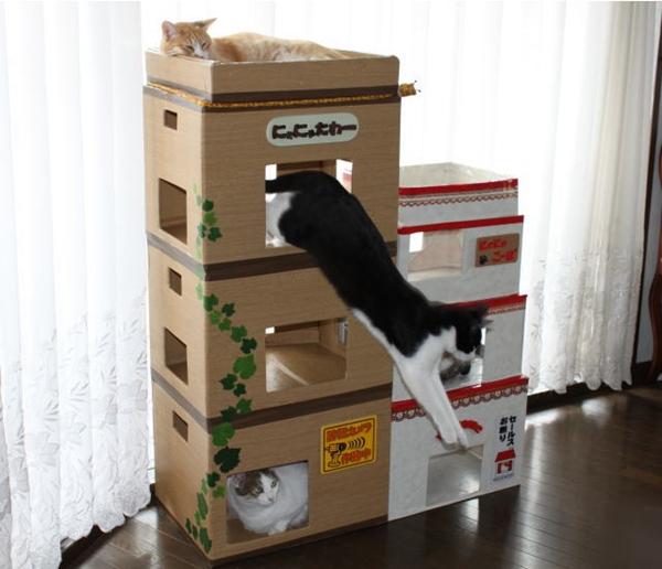cat-tower011handmade