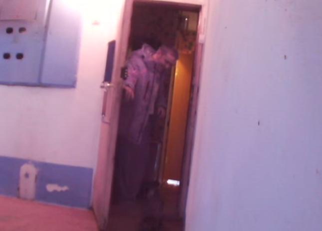 無事ドアを開けてもらいました!