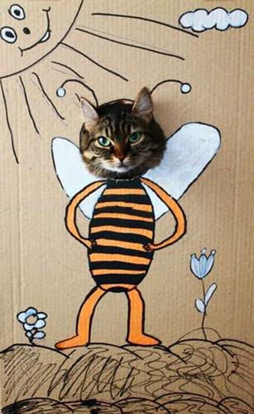 可愛すぎるミツバチ。