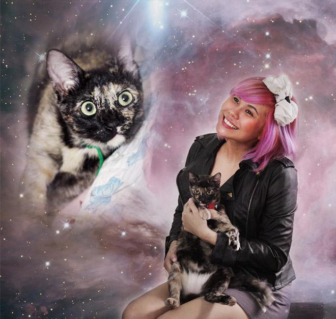 ペット愛は宇宙より広い。