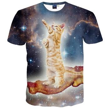 ベーコンに乗った猫&宇宙??